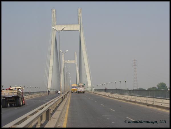 The Cable-stayed Naini Bridge