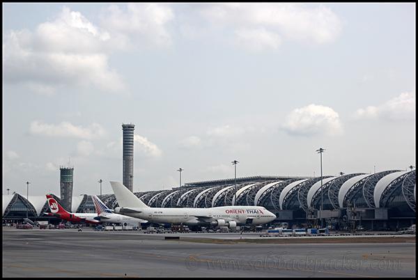 Survarnabhumi Airport, Bangkok