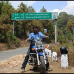 While Riding From Delhi to Lansdowne…