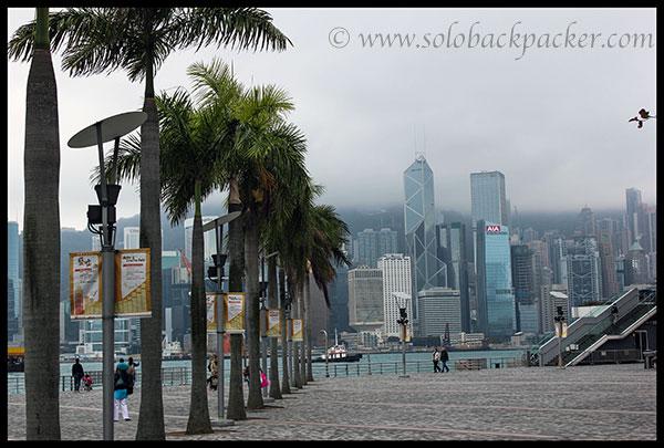 Victoria Harbour near Tsim Sha Tsui