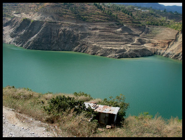Another View of Tehri lake