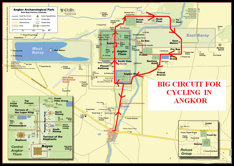 Big Circuit of Angkor Archaeological Park