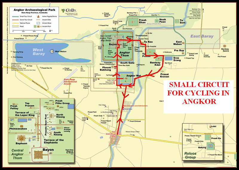 Small Circuit of Angkor Archaeological Park