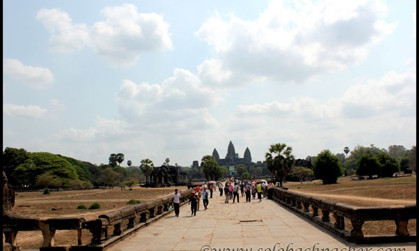 Day Two of Cycling in Angkor Archaeological Park