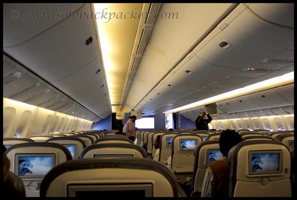 Inside B-777