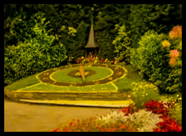 Casino Floral Clock, Interlaken