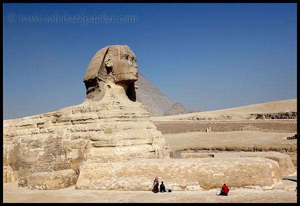 praying at Sphinx
