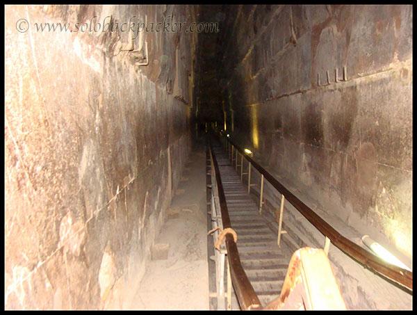 inside great pyramid
