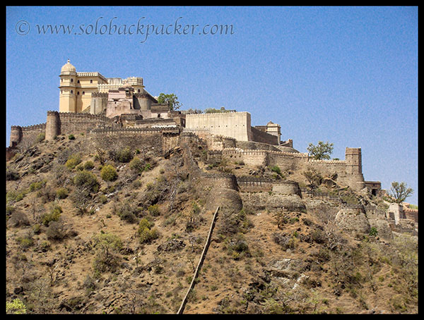 Palaces of Kumbhalgarh Fort
