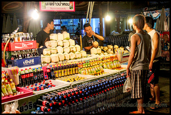 Coconut Water and Cold Drinks@Chatuchak Market