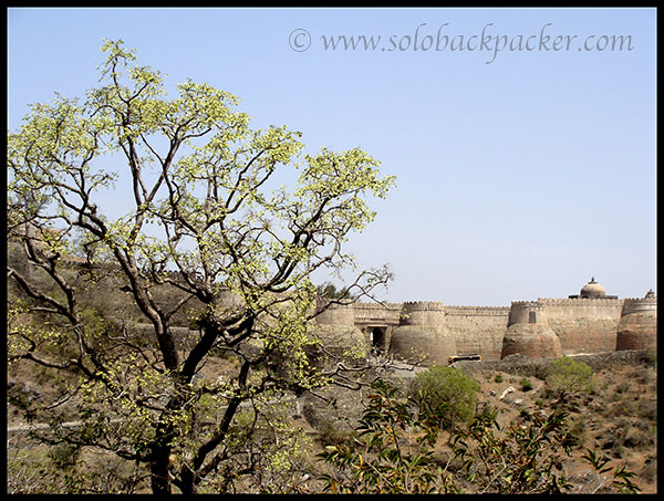 First View of Kumbhalgarh Fort