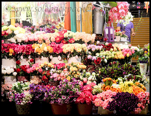 Flower Stall@Chatuchak Market