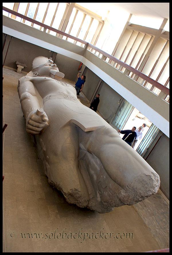 Ramses II Statue at Memphis
