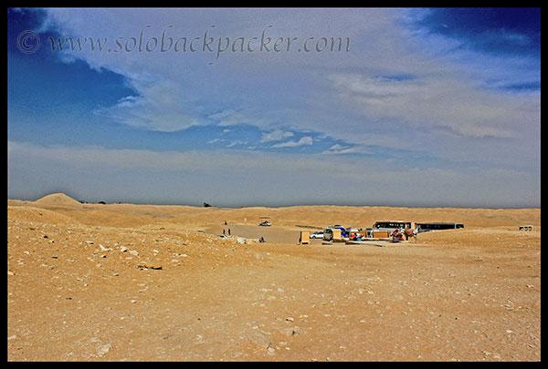 Desert Area Saqqara