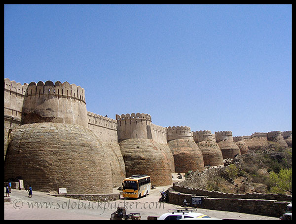 Outer Walls of Kumbhalgarh Fort
