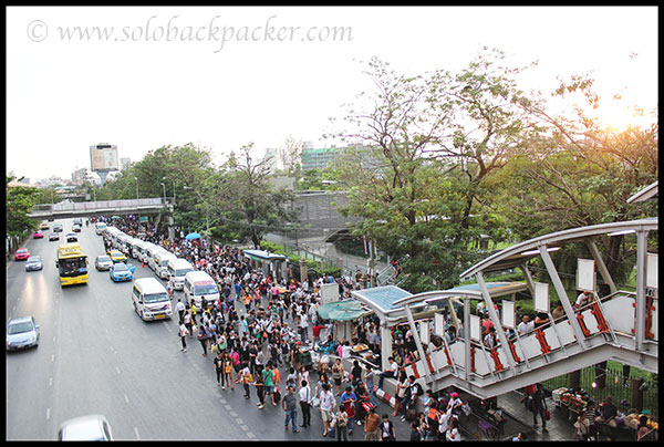 Road Leading to Chatuchak Market