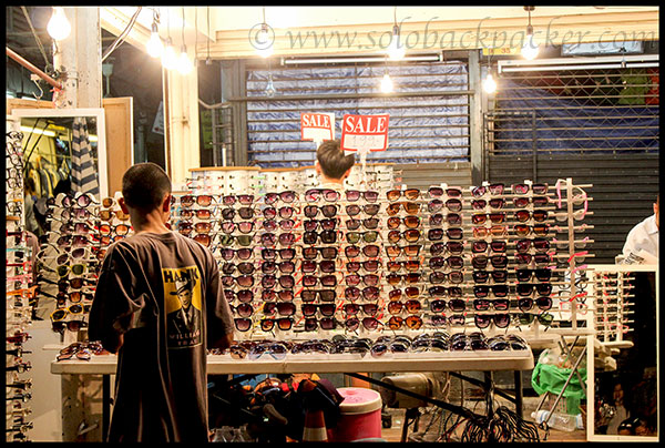 Sunglasses Stall@Chatuchak Market