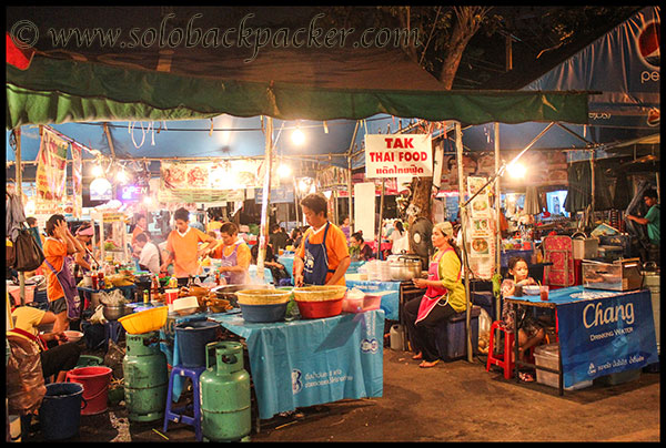 Thai Food Stall@Chatuchak Market
