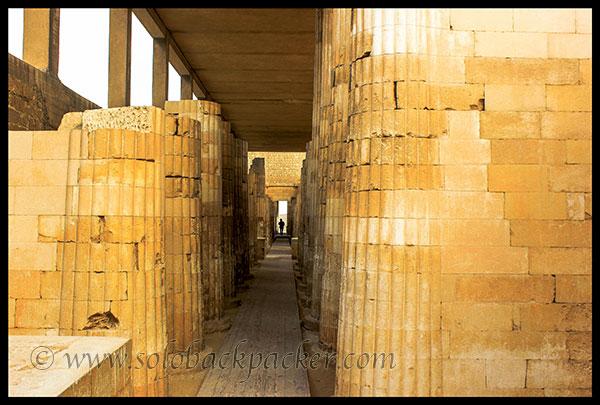 Colonnade Interior Saqqara