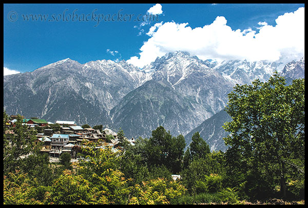 Amazing view from the Kalpa-Roghi Road