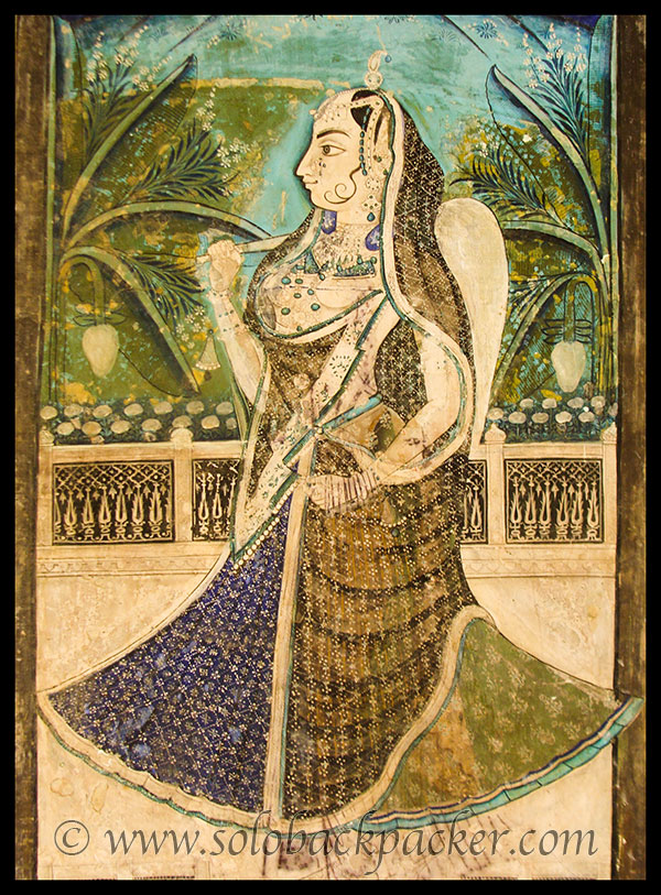 An Artwork in Chitrashala at Bundi Palace