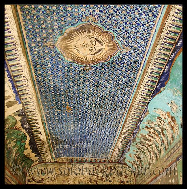 Ceiling of the Chitrashala