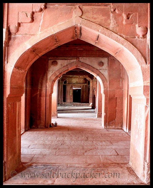 Corridor of Khas Mahal @ Fatehpur Sikri