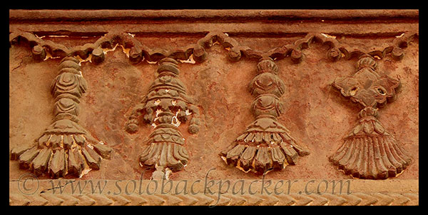 Decoration@ A Kitchen Wall, Outside Jodha Bai's Palace, Fatehpur Sikri
