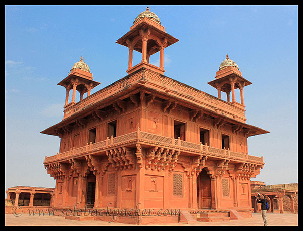 Diwan-i-Khas of Royal Enclosure, Fatehpur Sikri