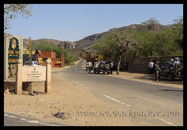 Entry Gate of Ranthambhore National Park