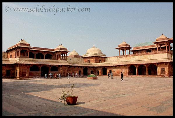 Interior of Jodha Bai's Palace @ Fatehpur Sikri