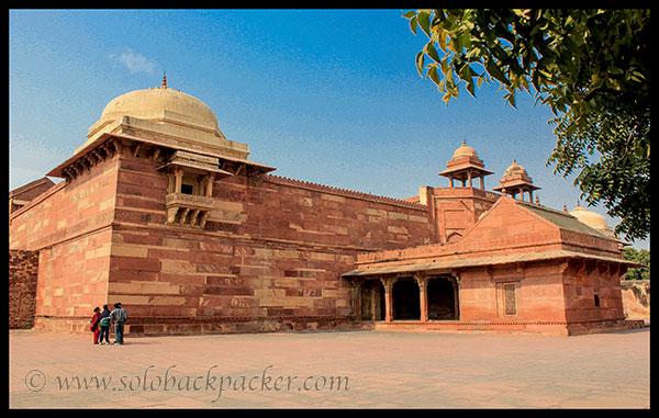 Jodha Bai's Palace @ Fatehpur Sikri