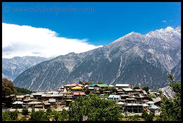 Kalpa Village and The Mountains