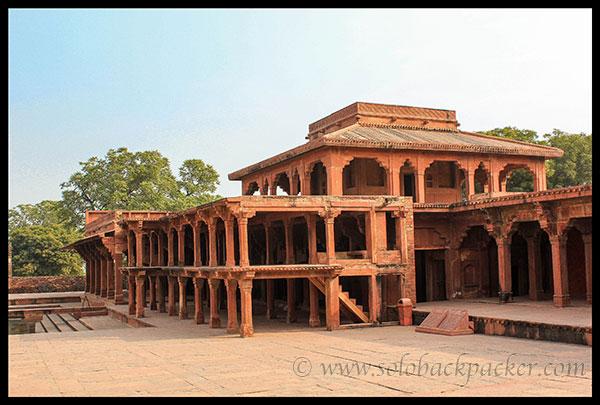Khas Mahal and Khwabgah @ Fatehpur Sikri