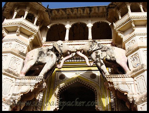 Massive Entrance of Bundi Palace