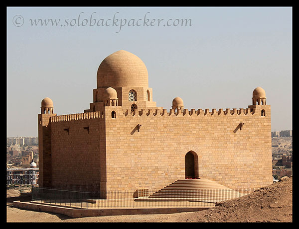 Mausoleum of Mohammed Shah Aga Khan, West Bank