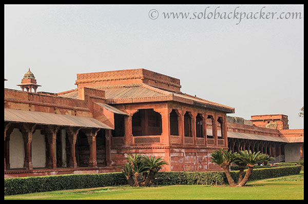 Other side of Diwan-i-Aam @ Fatehpur Sikri