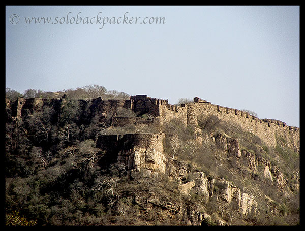 Outer wall of Ranthambhore Fort