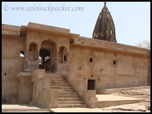 Raghunath Temple inside the Fort