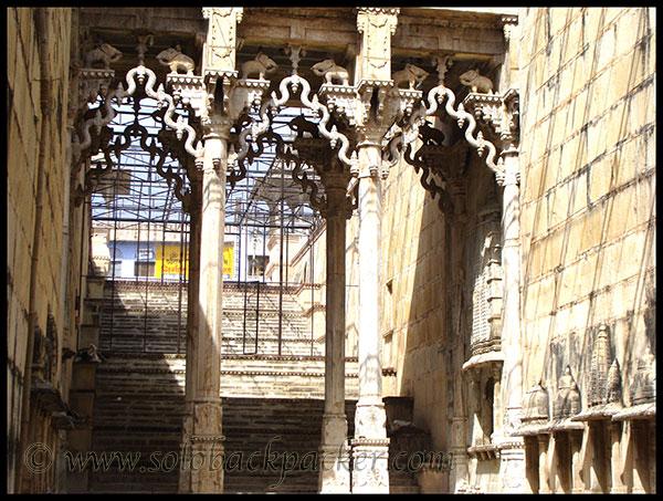 Raniji ki Baori Interior