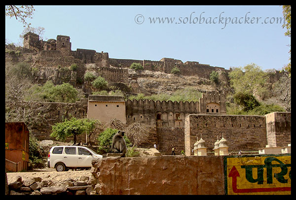 Ranthambhore Fort from Parking Area