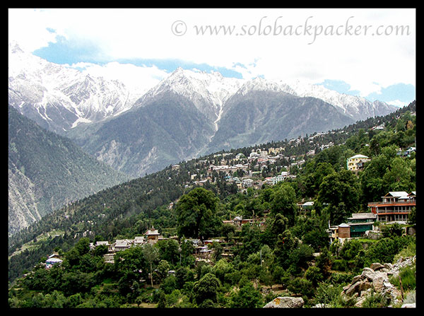 Reckong Peo in the lap of Himalayas