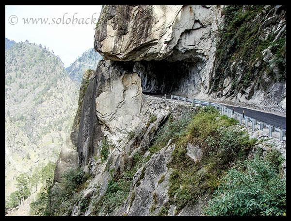 Scary road between Shimla-Peo