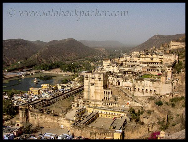 Spectacular View of Bundi Palace