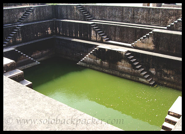 Step Well inside the Fort