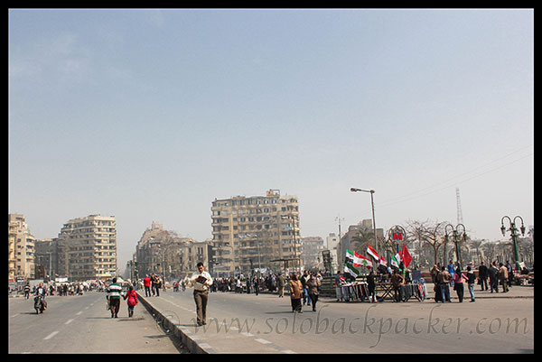 Tahrir Sqaure in Cairo