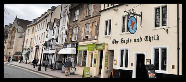 The Eagle and Child: A pub in Oxford