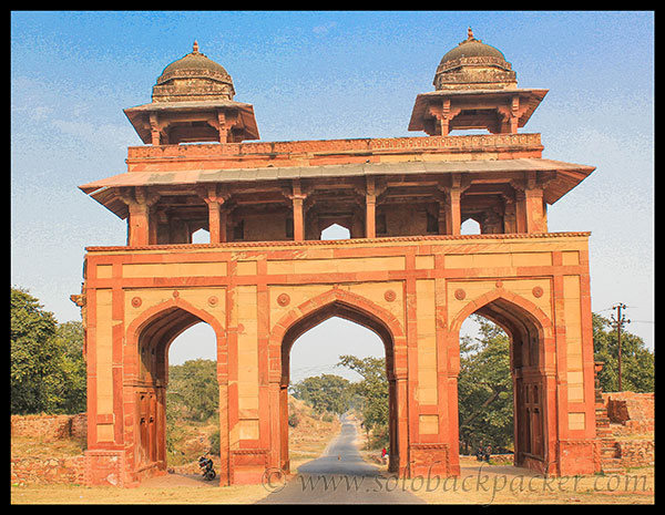 Three Arch doors of Naubatkhana @ Fatehpur Sikri