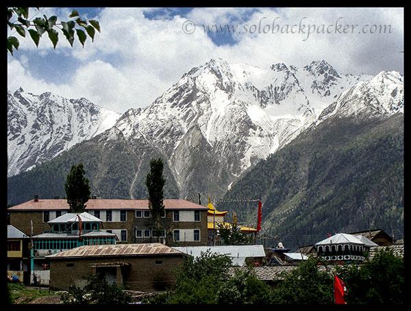 View from Kalpa Village