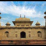 The Tomb of Itmad-Ud-Daula in Agra